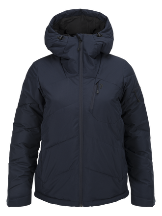 Damen Winterplace Skijacke Salute Blue | Peak Performance