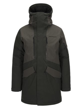 Herren Expedition Skiparka Olive Extreme | Peak Performance