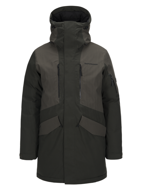 Expedition skidparkas för herrar Olive Extreme | Peak Performance