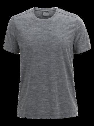 Men's Civil Merino  T-shirt Grey melange | Peak Performance