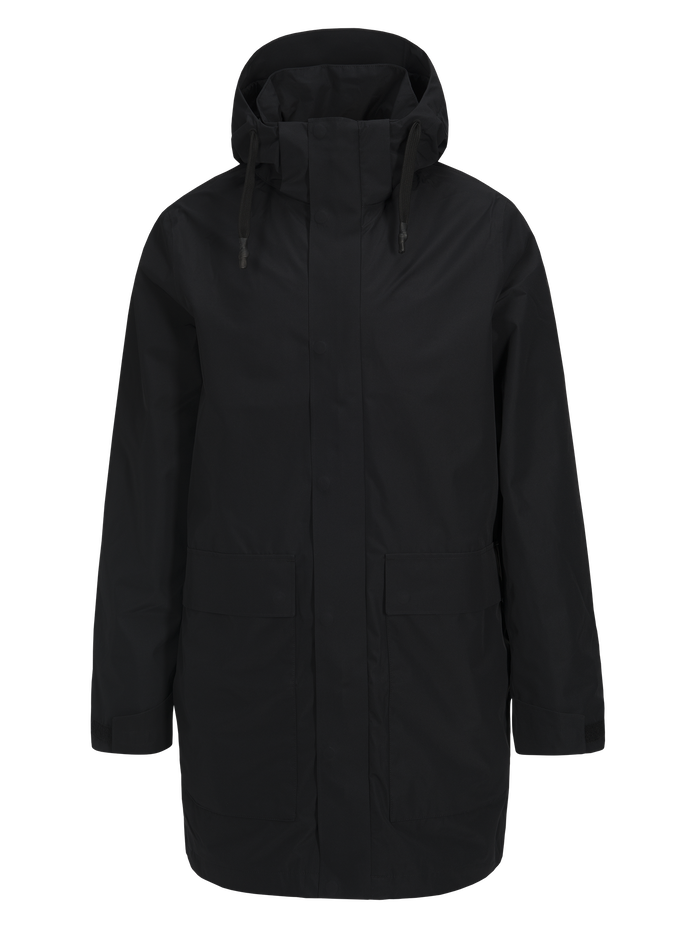 Men's Unit Summer Parka Black | Peak Performance