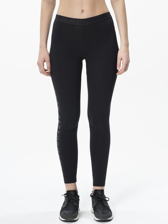 Women's Tech Logo Leggings Black | Peak Performance