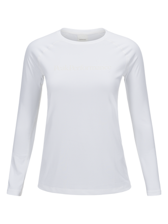 Women's Gallos Co2 Long-sleeved Top White | Peak Performance