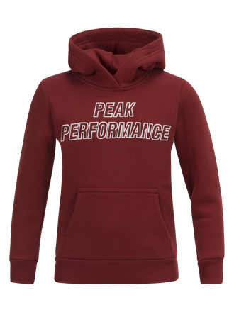 Kids Hoodie Dusty Wine | Peak Performance
