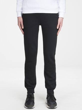 Damen Sportswear Mit Print Sweatpants Black | Peak Performance