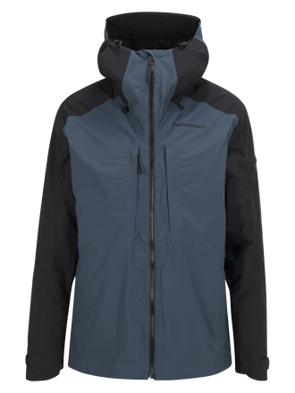 Herren Teton 2-lagige Skijacke Blue Steel | Peak Performance