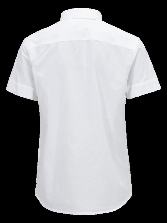 Luke kortärmad skjorta för herrar White | Peak Performance