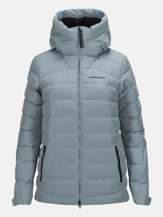 Damen Spokane Daunen Skijacke Dustier Blue | Peak Performance