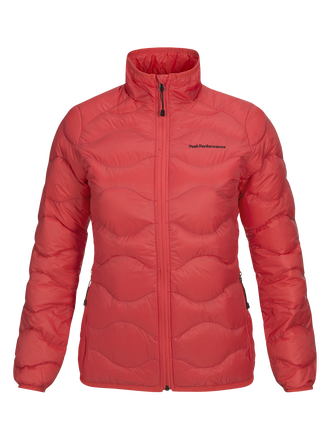 Women's Helium Jacket Pink Flow | Peak Performance