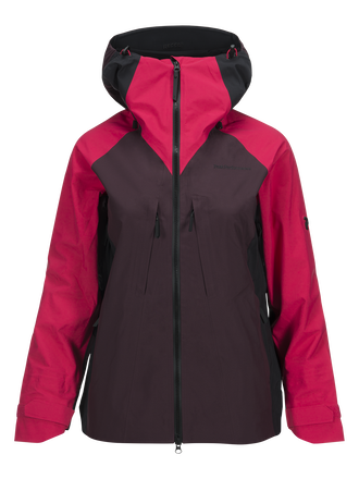 Women's Teton Ski Jacket Pink Planet | Peak Performance