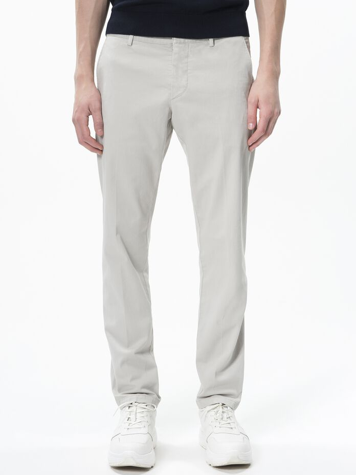 Herren Harvey Chinos Mortar Grey | Peak Performance