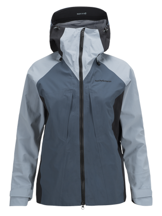 Women's Teton Ski Jacket Dustier Blue | Peak Performance