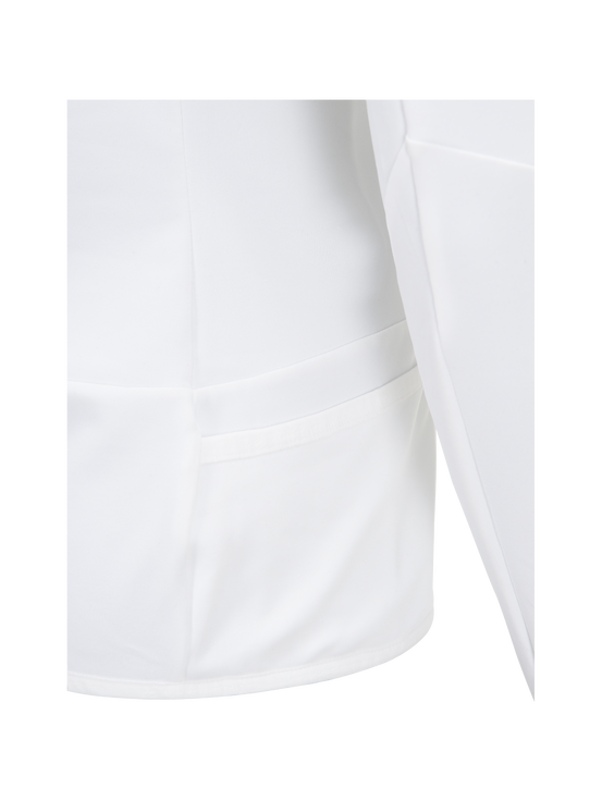 Women's Golf Wiltshire Half Zipped Mid-Layer Top White | Peak Performance