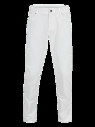 Men's Golf Barrow Pants White | Peak Performance