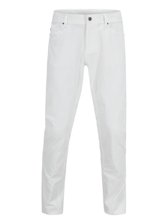 Men's Golf Barrow Pants White | Peak Performance