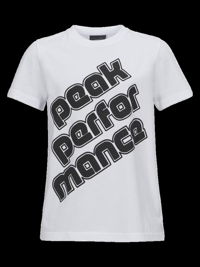 Kids Sportswear Printed T-shirt White | Peak Performance