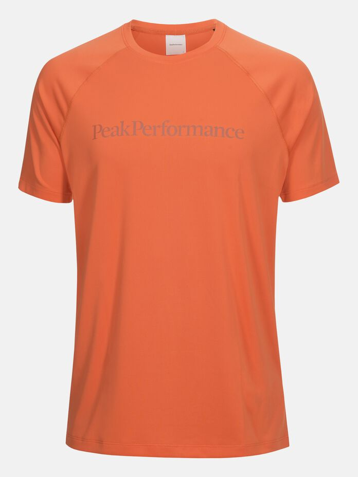Herren Gallos Co2 Kurzärmlig Top Fresh Mandarin | Peak Performance