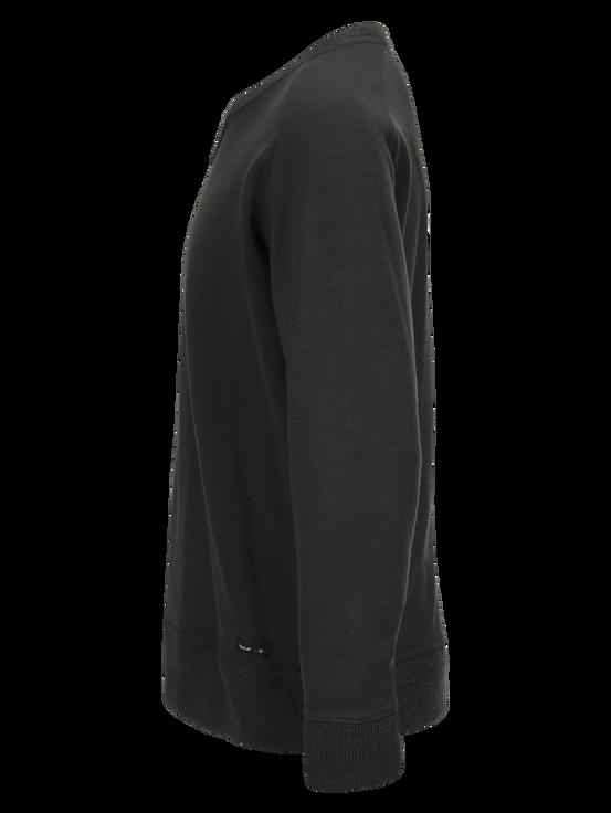 Unisex Sweatshirt med rund halsringning Swedish Army Green   Peak Performance