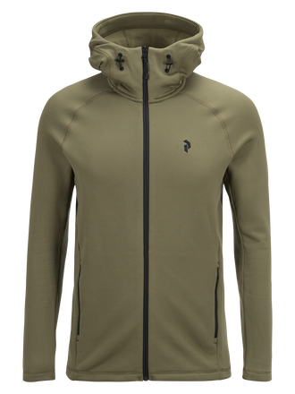 Men's Waitara Zipped Hooded Mid-Layer