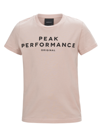 Kids Short-sleeved T-shirt Softer Pink | Peak Performance