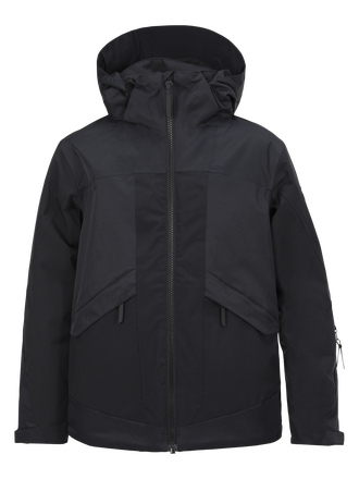 Kids Fernie Ski Jacket Black | Peak Performance