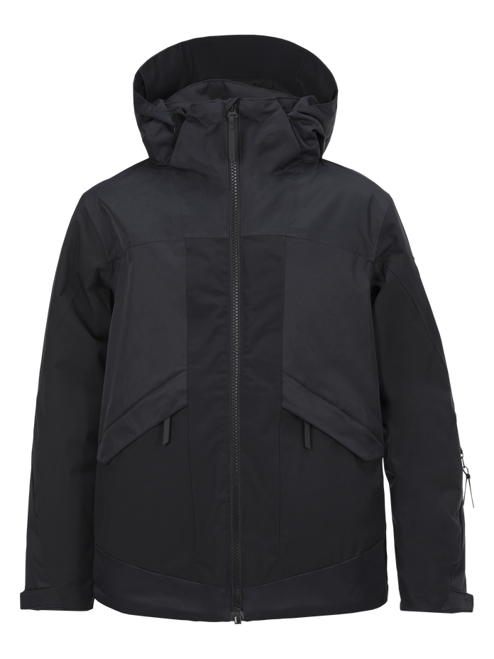 Blouson de ski enfant Fernie Black | Peak Performance