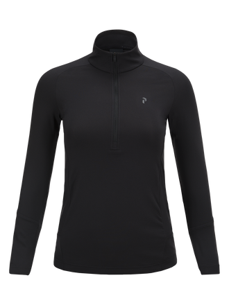 Damen Basisschicht Golftop Black | Peak Performance