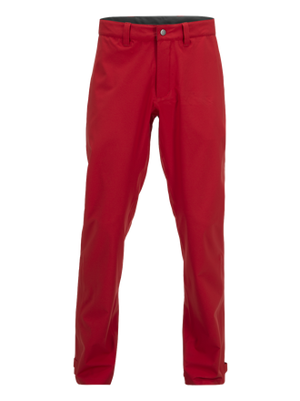 Pantalons de golf pour hommes Narrows Dark Chilli | Peak Performance