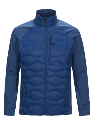 Herren Helium Hybrid Linerjacke True Blue | Peak Performance