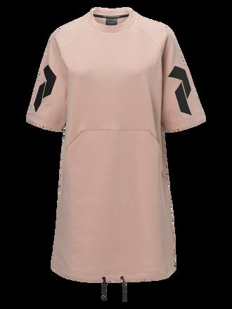 Women's Tech Short-sleeved Dress Softer Pink | Peak Performance