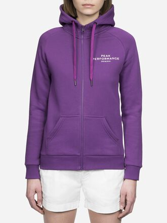 Women's Logo Zipped Hoodie Raf Blum | Peak Performance