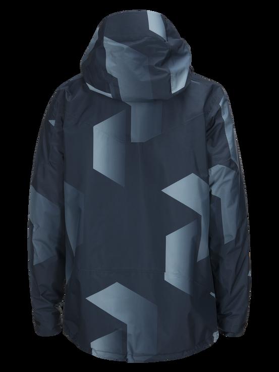 Men's Hakuba Printed Ski Jacket Pattern | Peak Performance