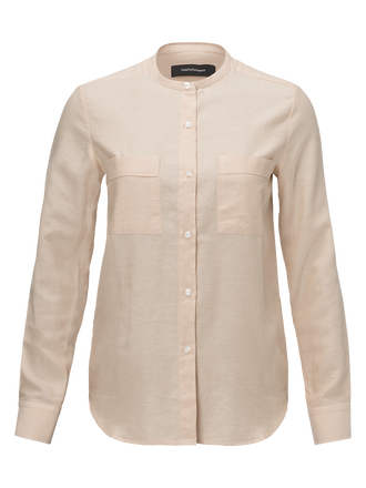 Women's Carla Shirt Sepia | Peak Performance