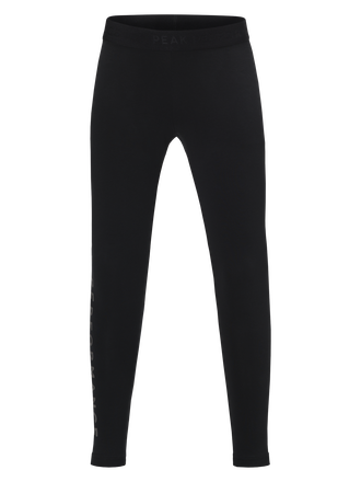 Kids Tech Leggings Black | Peak Performance