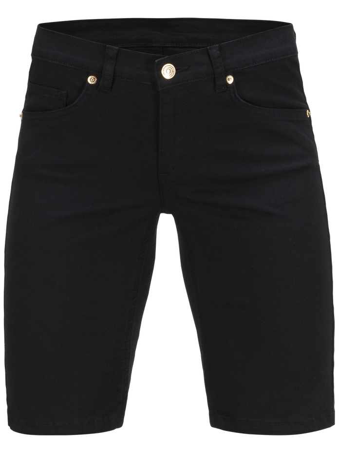 Women's Awa Twill Shorts Black | Peak Performance