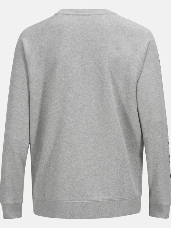 Unisex Enter the Wild Crew neck Med Grey Mel | Peak Performance
