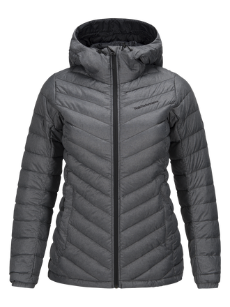 Women's Melange Frost Down Liner Jacket Dk Grey Mel | Peak Performance