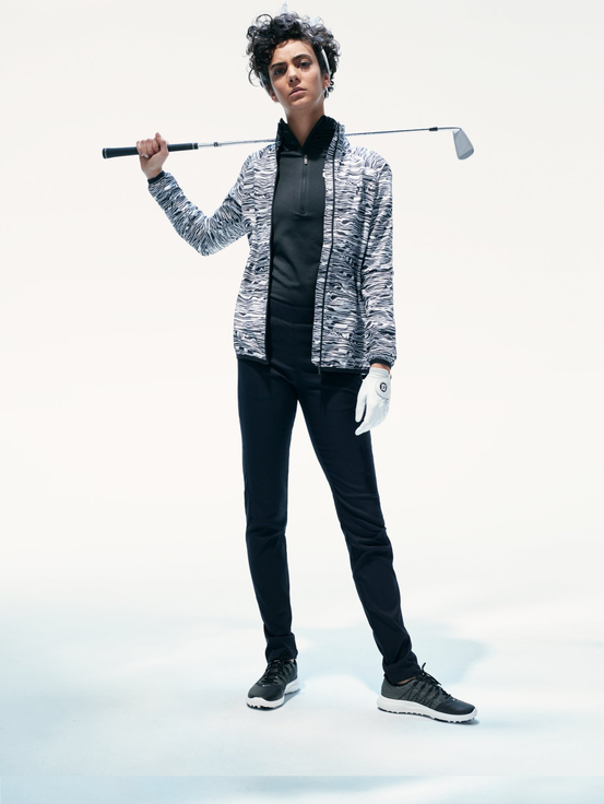Women's Golf Fairlie Printed Jacket Pattern | Peak Performance
