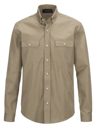 Men's Dean Army Shirt True Beige | Peak Performance