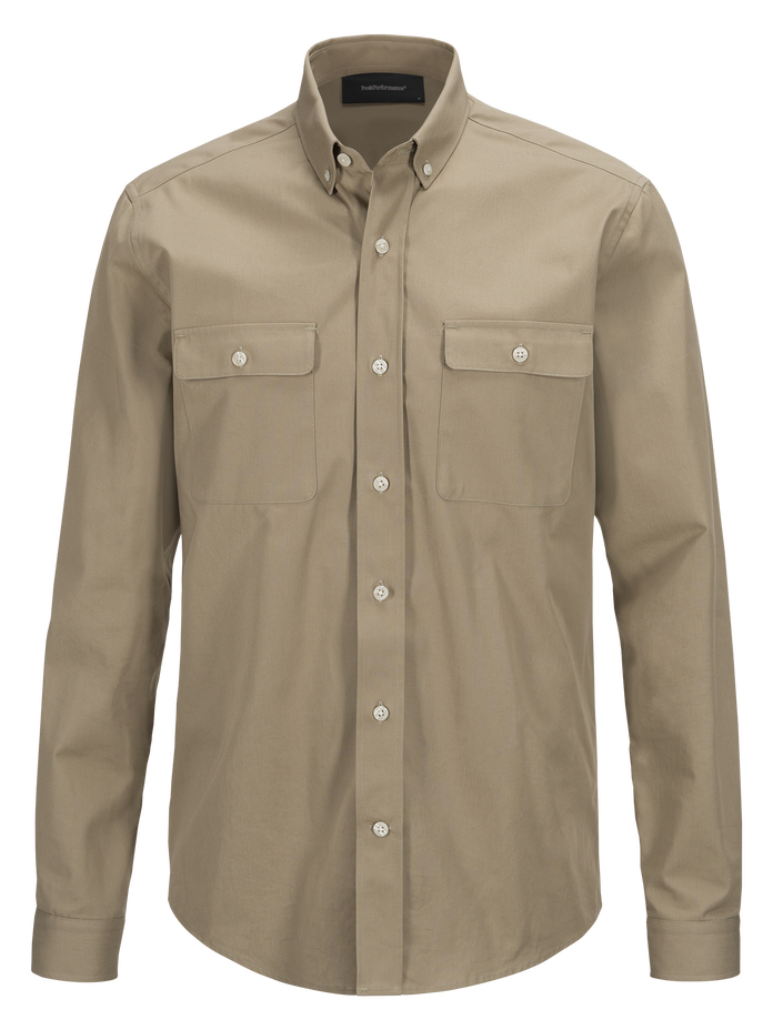 Chemise homme Dean Army True Beige | Peak Performance
