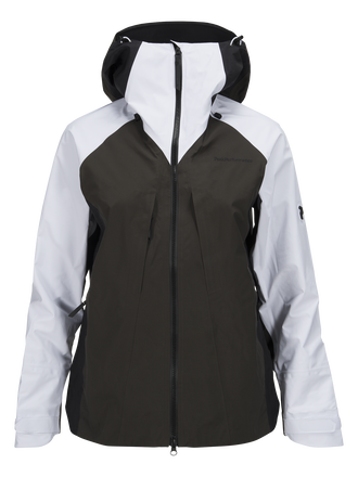 Women's Teton Ski Jacket White | Peak Performance
