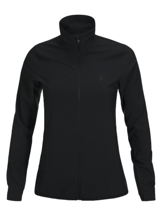 Women's Warrington Golf Wind Jacket Black | Peak Performance