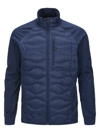 Men's Helium Hybrid Jacket Thermal Blue | Peak Performance