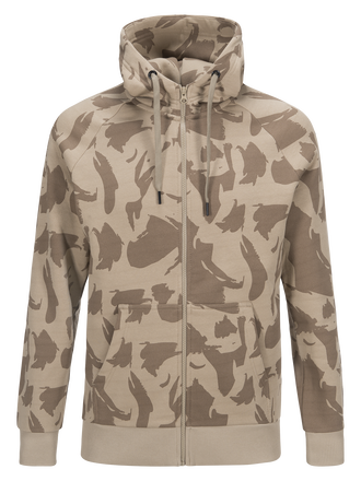 Men's Art Zipped Hoodie