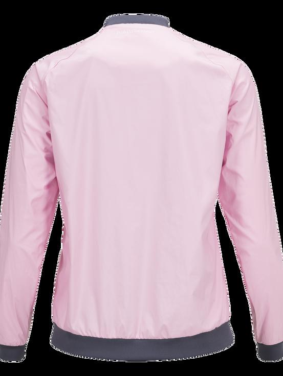 Women's Golf Octon Jacket Cotton Pink | Peak Performance