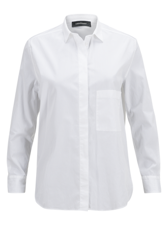 Women's Super Shirt White | Peak Performance