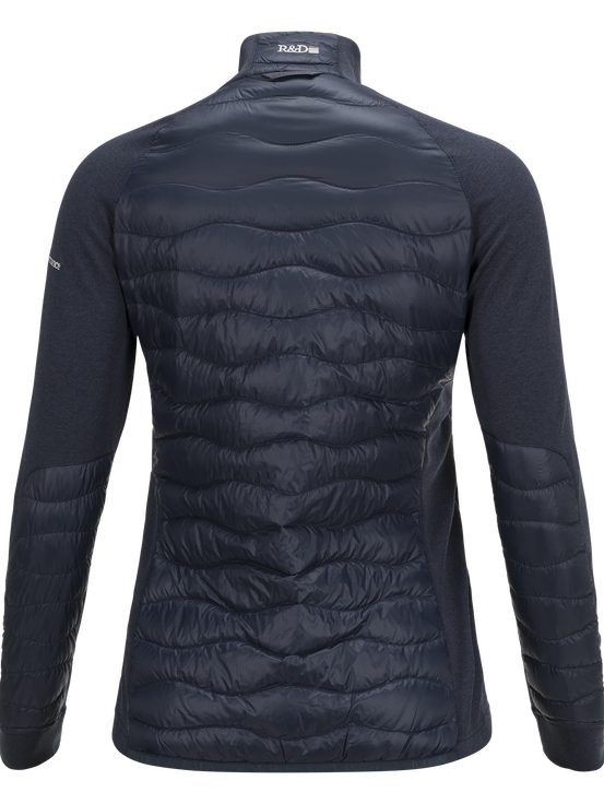 Women's Helium Hybrid Jacket Blue Shadow | Peak Performance
