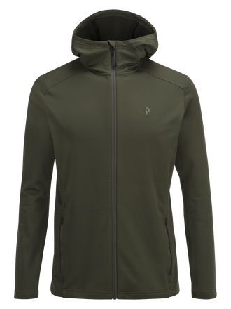 Men's Ace Hooded Zipped Mid-Layer