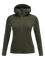 Women's Ace Zipped Hooded Mid-Layer Forest Night | Peak Performance