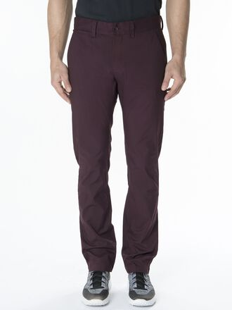 Men's Maxwell Cotton Golf Pants Mahogany | Peak Performance